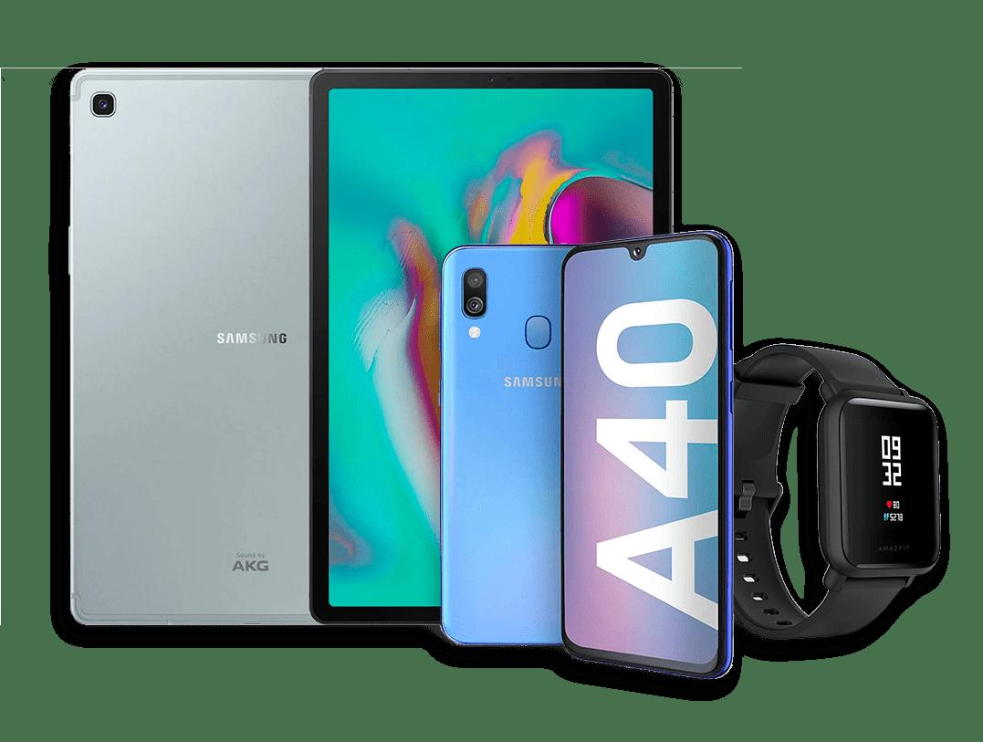 Premios: tablet Samsung, móvil Samsung y reloj fitness