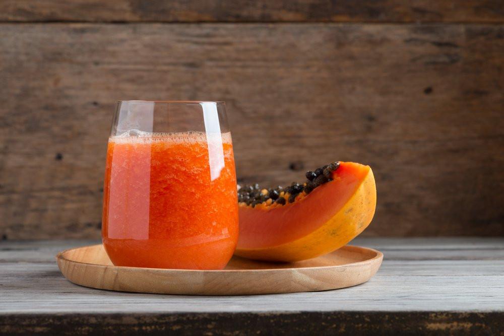 batido de papaya