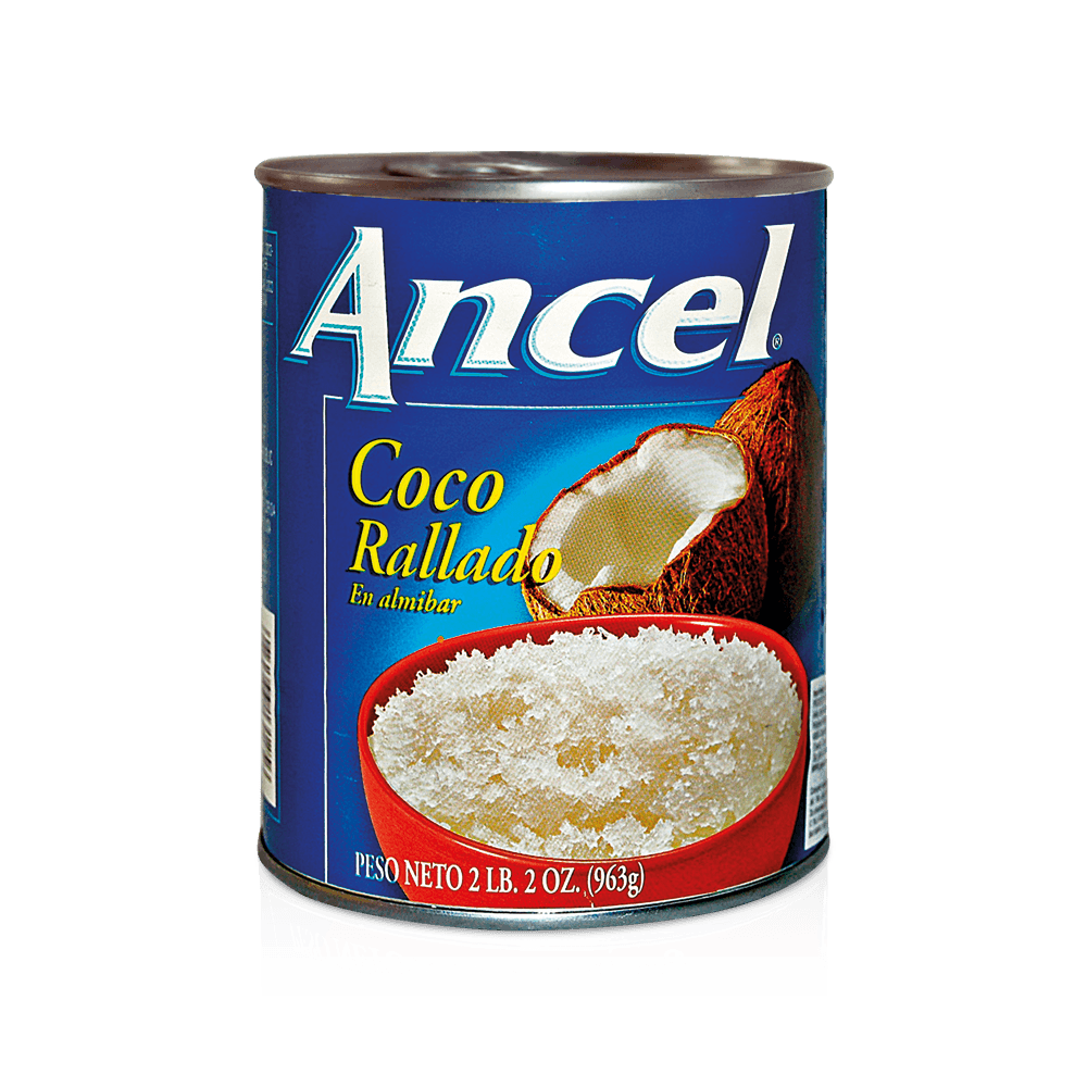 Coco rallado almibar ancel