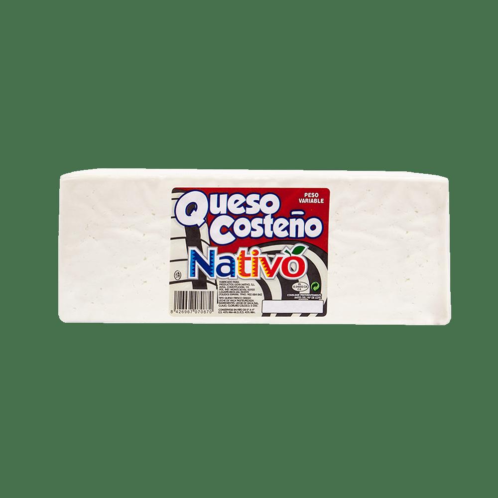 queso costeño nativo en barra