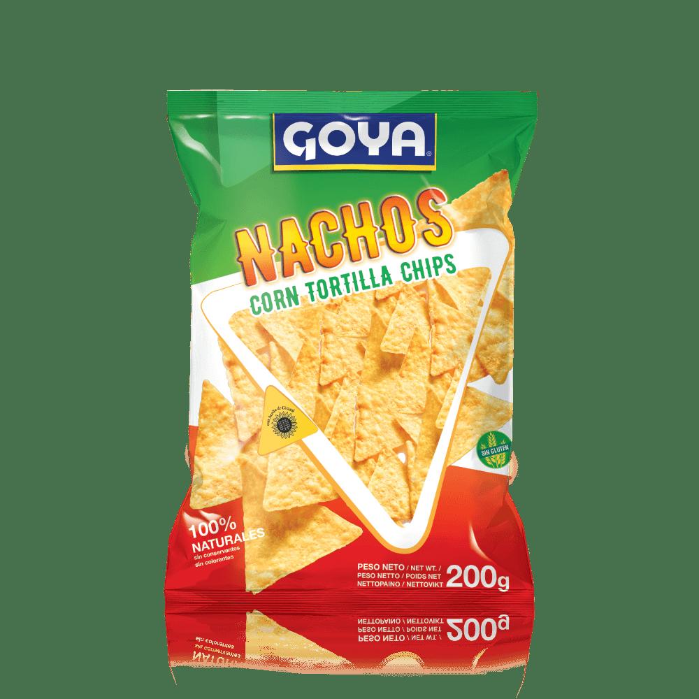Nachos de maíz