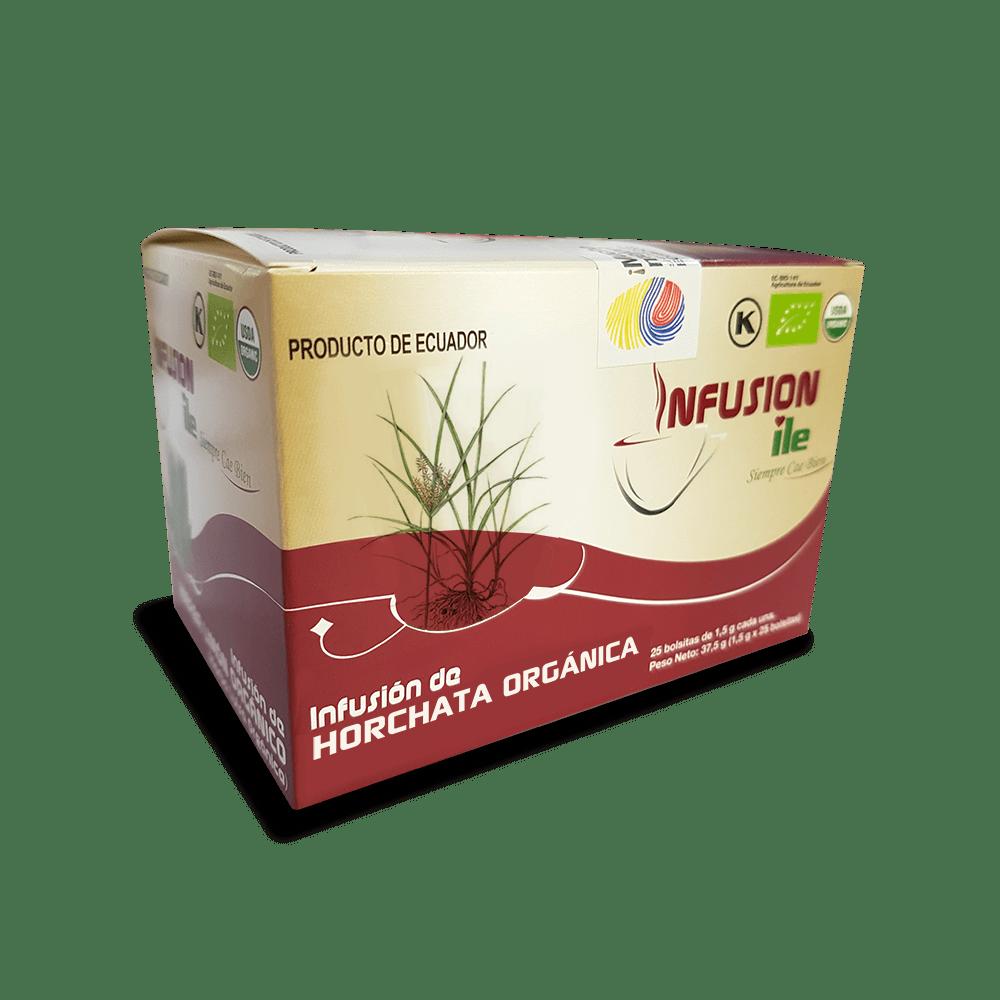 Infusión de horchata orgánica