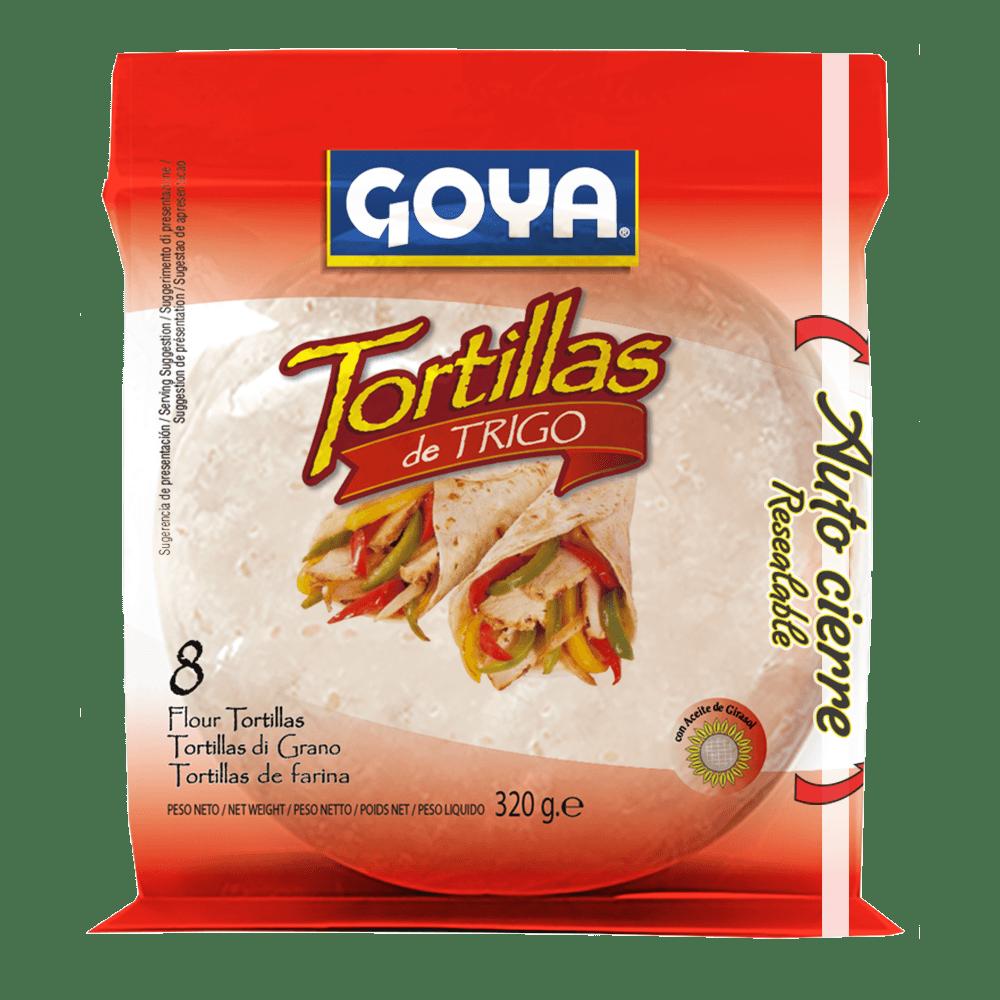 tortillas trigo goya